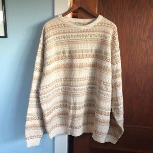 VTG Men's XL L.L.Bean 100% Cotton Sweater